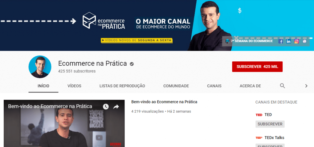 Ecommerce na prática; comércio eletrónico; marketing digital.