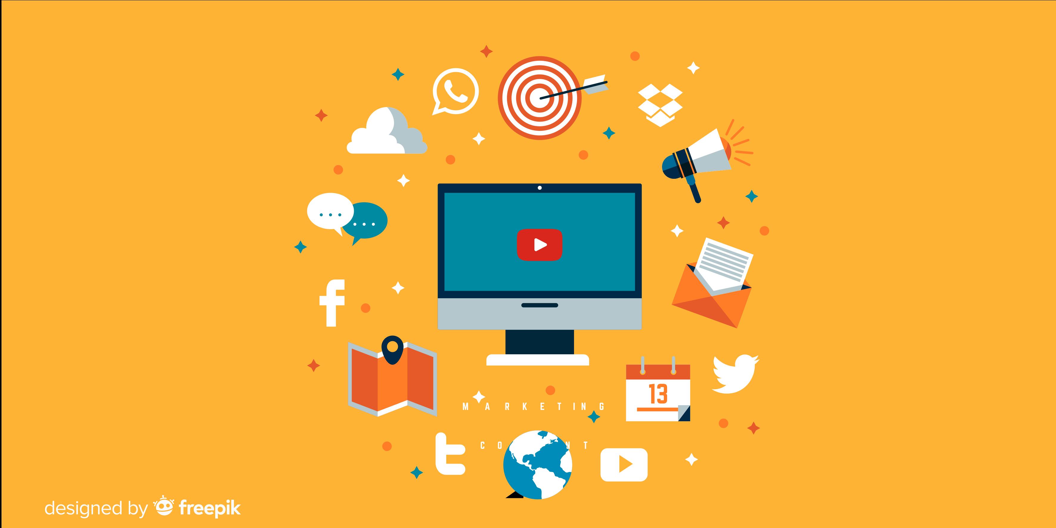 Youtube; marketing digital; empresas digitais; SEO.