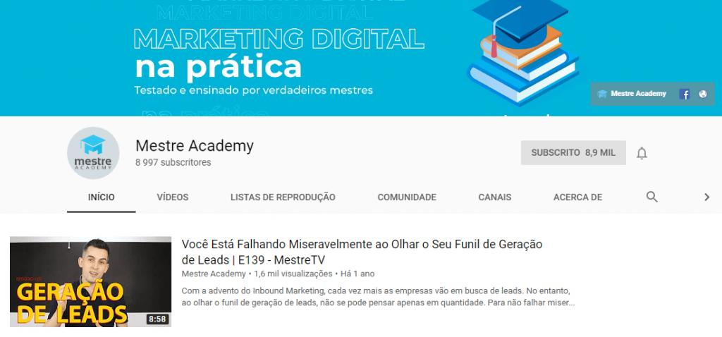 Mestre Academy; Agência Mestre; Marketing digital; agência digital; SEO; Search engine optimization; Otimização para motores de busca.