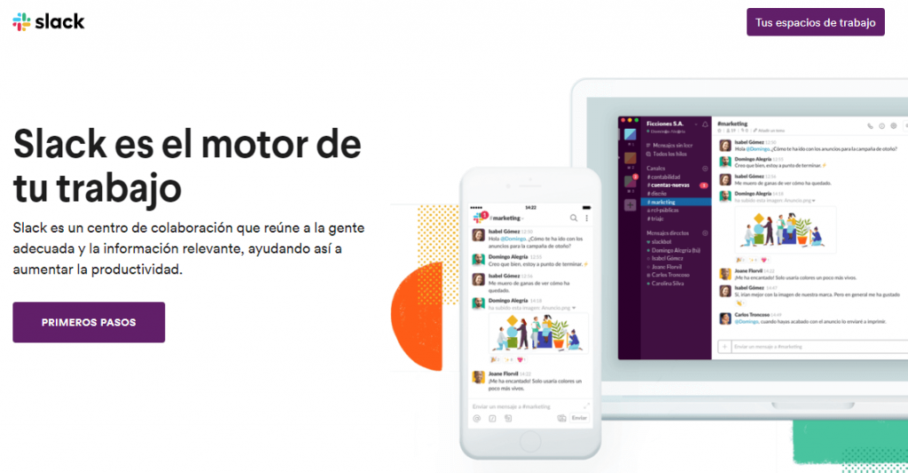 Redes sociais corporativas; Slack; ferramenta digital de colaboração.
